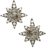 Nadri Holiday Star Stud Earrings