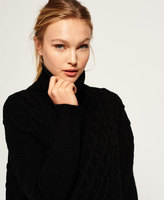 Superdry Cable Cape Sweater