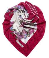 Christian Dior Pre-owned: Floral Print Scarf.