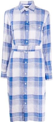 Polo Ralph Lauren Plaid Print Dress