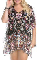 Becca Etc Plus Printed Cover-Up Tunic
