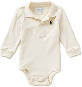 Ralph Lauren Baby Boys 3-12 Months Long-Sleeve Bodysuit