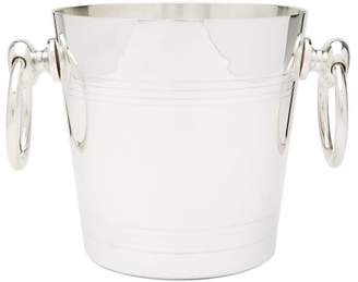 The Wolseley Collection - Vintage Silver-plated Ice Bucket And Tongs - Silver