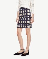 Ann Taylor Lattice Knit Skirt