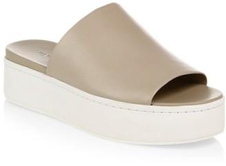 Vince Walford Slide-On Suede Sandals