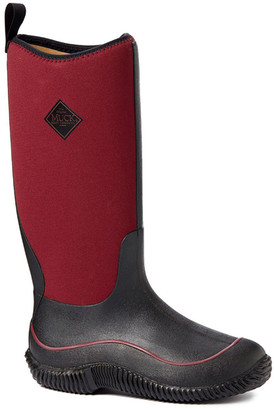The Original Muck Boot Company Women's Rain boots BLK - Red & Black Hale Boot - Women
