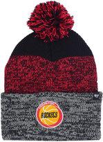 '47 Houston Rockets Black Static Pom Knit Hat