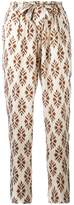 Forte Forte diamond print trousers