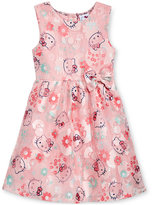 Hello Kitty Print Dress, Toddler & Little Girls (2T-6X)