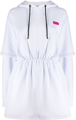 GCDS Hooded Sweat Dress
