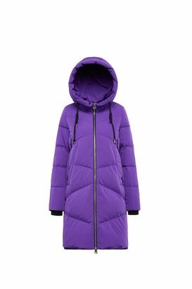 Bosideng Women's Long Puffer Down Coat with Hood