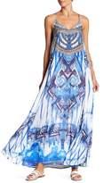 La Moda Embellished Cover-Up Slip Dress