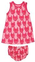 Pink Chicken Kitty Infant Set