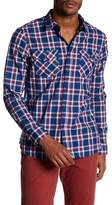 Jachs Plaid Classic Fit Workshirt