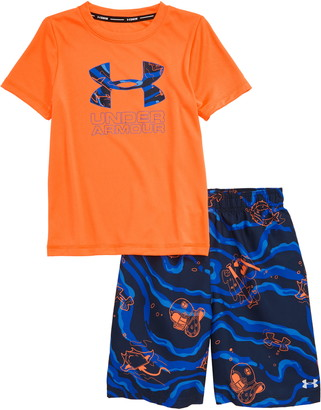 Under Armour Fish Volley Two-Piece Rashguard Set