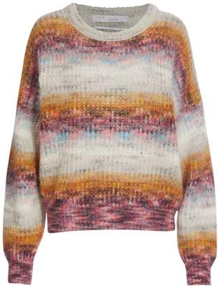 IRO Maroja Dip-Dye Mohair Sweater