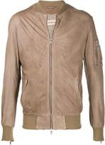 Giorgio Brato lightweight bomber jacket