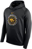 Nike Men's Iowa Hawkeyes Therma-FIT Circuit Hoodie
