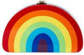 Milly Minis Girl's Rainbow Half-Moon Clutch Bag