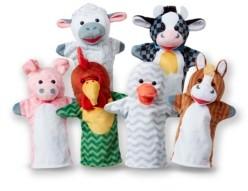 Melissa & Doug 6-Piece Barn Buddies Hand Puppets