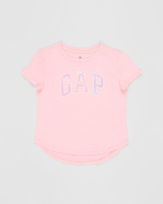 Gapkids Short Sleeve Arch Logo T-Shirt - Teens