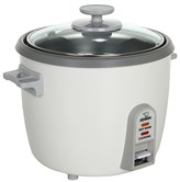 Zojirushi Rice Cooker and Steamer 6 Cup (White) - Home