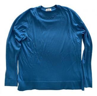 Acne Studios Blue Wool Knitwear & Sweatshirts