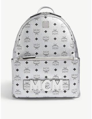 MCM Trilogie Stark coated canvas backpack