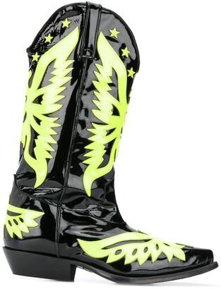 Philipp Plein Cowboy Boots
