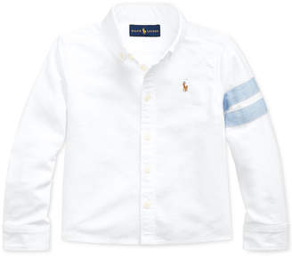 Polo Ralph Lauren Little Girls Classic Oxford Crop Shirt