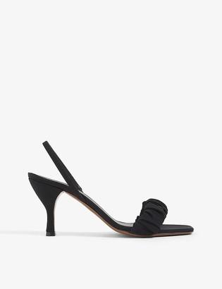 Neous Alhena leather heeled mules