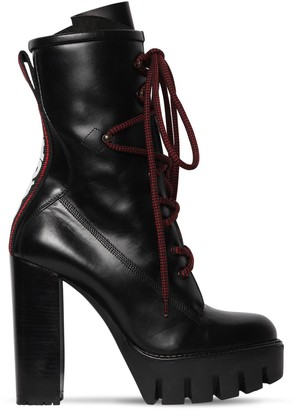 DSQUARED2 130mm Evolution Tape Leather Boots