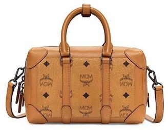 MCM Small Soft Berlin Visetos Crossbody Bag
