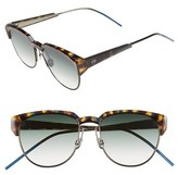 Christian Dior Women's Spectra 53Mm Cat Eye Sunglasses - Brown/ Havana