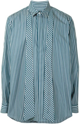 SONGZIO Bohemian pinstripe shirt