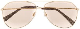 Dolce & Gabbana Eyewear DG2244 aviator-shaped sunglasses