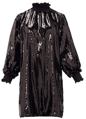 ÀCHEVAL PAMPA Buenos Aires Sequinned Dress - Womens - Black