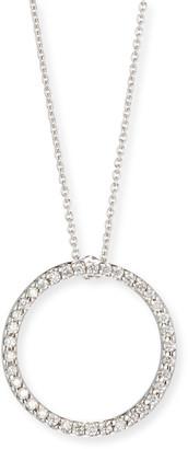 Roberto Coin Pave Circle Necklace