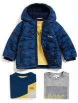 HUGO BOSS Kids' sweater in a cotton blend