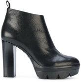 Santoni high heel boots