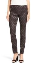 Nic+Zoe Women's Sparkle Brocade Pants