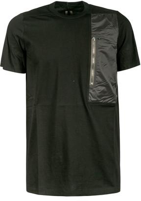 Rick Owens Side Zip Pocket Detail T-shirt