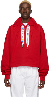 Reebok by Pyer Moss Red Collection 3 Jersey Hoodie