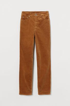 H&M Corduroy Pants - Beige