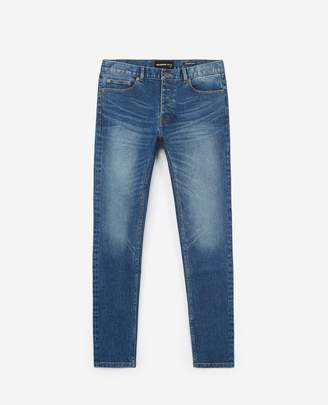 The Kooples Raw blue jeans with five pockets