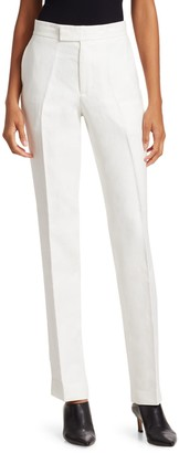 Helmut Lang Slim Linen Trousers