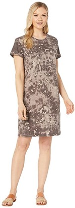 tentree Natures Dress (Chebula Black Ice Dye) Women's Dress