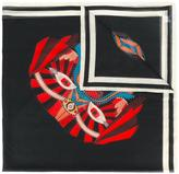 Givenchy Imperial Rottweiler printed scarf - women - Silk/Cotton - One Size