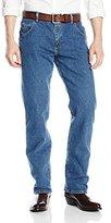 Wrangler Men's Rugged Wear Advanced-Comfort Straight-Fit Jean