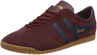 Gola Men's Bullet Suede Low-Top Sneakers, Red (Burgundy/Navy/Gum Re)